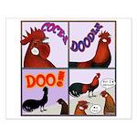 Cocka-Doodle-Doo Small Poster