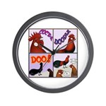 Cocka-Doodle-Doo Wall Clock