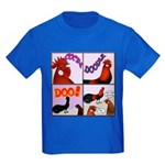 Cocka-Doodle-Doo Kids Dark T-Shirt