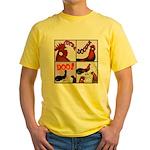 Cocka-Doodle-Doo Yellow T-Shirt