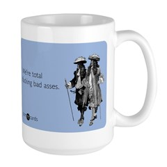 Fucking Bad Asses Large Mug