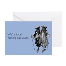 Fucking Bad Asses Greeting Card