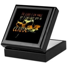 Eclipse Clouds by UTeezSF.com Keepsake Box