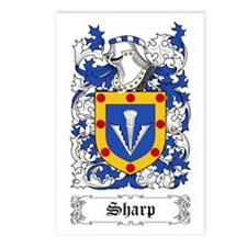 Sharp [English] Postcards (Package of 8)