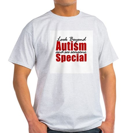 Look Beyond Autism Light T-Shirt