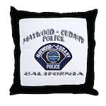 Maywood Cudahy Police Throw Pillow