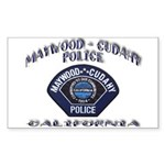 Maywood Cudahy Police Sticker (Rectangle)