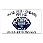 Maywood Cudahy Police Sticker (Rectangle 10 pk)