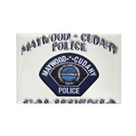 Maywood Cudahy Police Rectangle Magnet (10 pack)