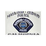 Maywood Cudahy Police Rectangle Magnet