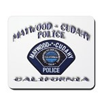 Maywood Cudahy Police Mousepad