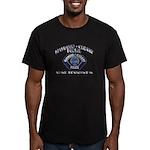 Maywood Cudahy Police Men's Fitted T-Shirt (dark)