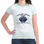 Maywood Cudahy Police Jr. Ringer T-Shirt