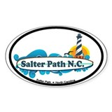 Salter Path NC - Surf Design Decal