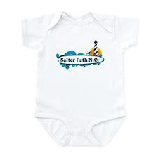 Salter Path NC - Surf Design Infant Bodysuit