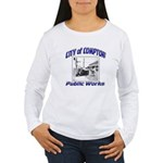 Compton Public Works Women's Long Sleeve T-Shirt