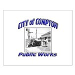 Compton Public Works Small Poster