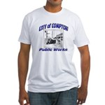 Compton Public Works Fitted T-Shirt