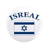I love Isreal 3.5&amp;quot; Button