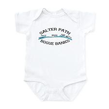 Salter Path NC - Map Design Infant Bodysuit