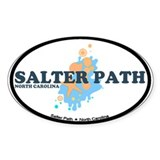 Salter Path NC - Seashells Design Decal