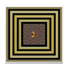 Regency Butterfly Tile Coaster
