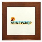 Salter Path NC - Beach Design Framed Tile