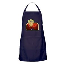 couch potato Apron (dark)