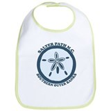 Salter Path NC - Sand Dollar Design Bib