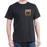 Bullfight Art Black T-Shirt