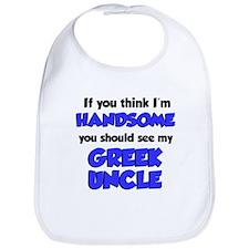 Handsome - Greek Uncle Bib