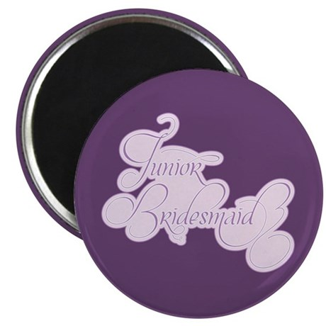 "Amor Junior Bridesmaid 2.25"" Magnet (100 pack)"