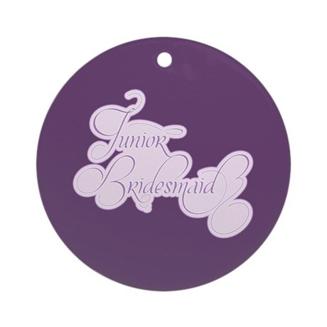 Amor Junior Bridesmaid Ornament (Round)