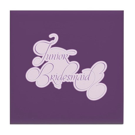 Amor Junior Bridesmaid Tile Coaster