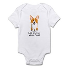 Pembroke Welsh Corgi Infant Bodysuit