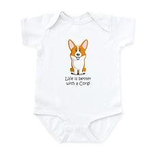 Pembroke Welsh Corgi Infant Bodysuit