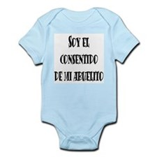 Consentido de abuelito negro Infant Creeper