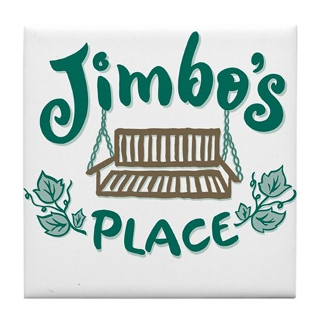 Cottage Brand: Jimbo's Place Tile Coaster