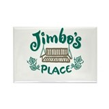 Cottage Brand: Jimbo's Place Rectangle Magnet (10