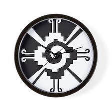 Mayan Unity Symbol Wall Clock for