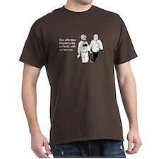 Effortless Friendship Dark T-Shirt
