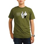 Effortless Friendship Organic Men's T-Shirt (dark)