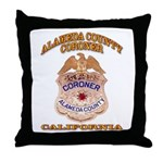 Alameda County Coroner Throw Pillow