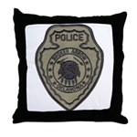 Broken Arrow Police Throw Pillow