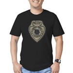 Broken Arrow Police Men's Fitted T-Shirt (dark)