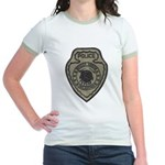 Broken Arrow Police Jr. Ringer T-Shirt