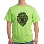 Broken Arrow Police Green T-Shirt
