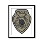 Broken Arrow Police Framed Panel Print