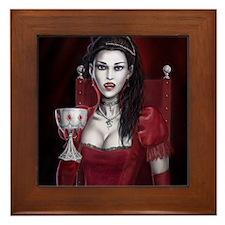 Blood Countess Framed Tile
