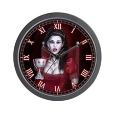Blood Countess Wall Clock